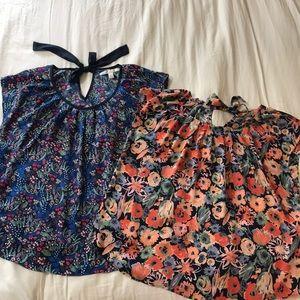 Two Lauren Conrad dress shirts, XL